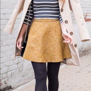 Holiday Gold Skirt